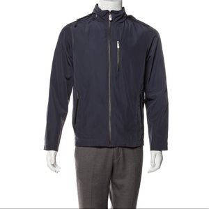 Tech by Tumi Navy Blue Zip-Up Jacket.